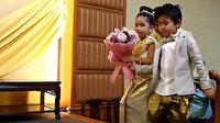Sapkın aile ikiz çocuklarını evlendirdi