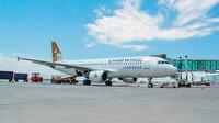 Şam uçağı Tunus'a kondu