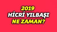 2019 hicri yılbaşı ne zaman?