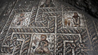 1. yüzyıldan kalma mozaik bulundu üzerinde ilginç detay