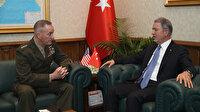 Milli Savunma Bakanı Akar Dunford'u kabul etti