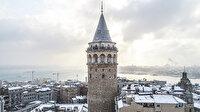 Kar İstanbul'a çok yakıştı