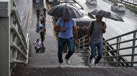 İstanbul ve 5 ile kuvvetli yağış uyarısı
