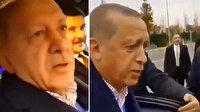 Erdoğan soğukta bekleyen gençleri görüce konvoyu durdurdu