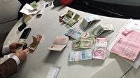 Atatürk Havalimanı'nda lüks araçta para dolu çanta bulundu