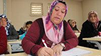 Torununa yardım edebilmek için okuma yazmayı öğrendi