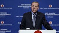 Cumhurbaşkanı Erdoğan: Üniversite-sanayi iş birliği artmalı