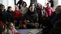 Murat Kekilli'den Suriye'deki sığınmacı kamplarını ziyaret