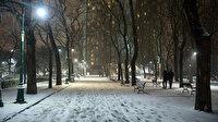 İstanbul'da kar yağışı gün boyu devam edecek