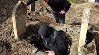 Trabzon'da jandarma harekete geçiren kazı