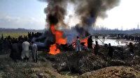 Hint savaş uçağı düştü: 2 pilot öldü