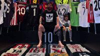 Messi'nin soyunma odasına gidip formasını istediği adam