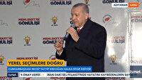 Cumhurbaşkanı Erdoğan gençlerden aldığı mektubu anlattı
