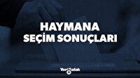 Seçim 2019 | Ankara Haymana Yerel Seçim   Sonuçları - CANLI