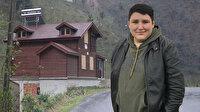 'Tosuncuk' köyüne yaptırdığı villada bir kez kalabilmiş