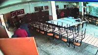 Denizli'deki deprem anında öğrencilerin panik anları kamerada