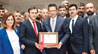Halfeti'de AK Parti Albayrak'la fark attı