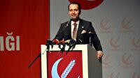 Fatih Erbakan sert konuştu: Babamın resmiyle şov yapıyorlar