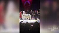 Cumhurbaşkanı Erdoğan Diriliş oyuncusunun nikahına katıldı