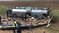 Kazakistan'da trafik kazası: 11 ölü
