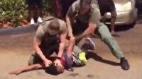 Öğrenciye şiddet uygulayan polis memuruna tepkiler büyüyor