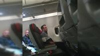 'Denize zorunlu iniş yapıyoruz' anonsu yolcuları şoke etti
