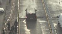 Alanyasporlu futbolcuları taşıyan aracın kazadan önceki görüntüsü