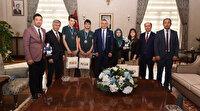 Manisalı öğrenciler robot yarışmasında Türkiye'yi temsil edecek