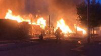 ABD'de dev yangın
