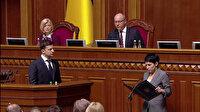 Ukrayna'da Zelenskiy dönemi başladı