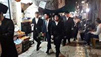 Kudüslü seyyar satıcı Yahudilere ilahi dinletti