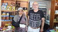 'Bizi Nesrin Hanım gönderdi' deyip bakkal ve eşini dövdüler