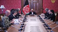 Afganistan Cumhurbaşkanı Gani ABD Temsilcisi Halilzad'la görüştü