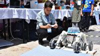Sivas'ta ortaokullar arası robot şenliği