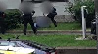 Polis çantasında el bombası olduğunu söyleyen adamı bacağından vurdu