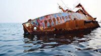 Kayıp iskelelere batan gemilere doğru