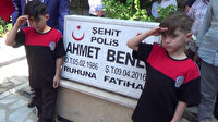 Polislerimiz, Şehit çocuklarını sünnet törenlerinde yalnız bırakmadı