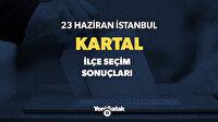 Kartal seçim sonuçları! 2019 İstanbul  Kartal oy oranları ve sandık sonuçları