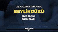 Beylikdüzü Seçim Sonuçları - 2019 İstanbul  Beylikdüzü Oy Oranları Seçim Sonuçları