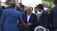 Binali Yıldırım AK Parti İl Başkanlığı'na geldi
