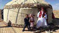 Yozgat'ta Kırgız Türklerinden bazıları Nevşehir'e gitti