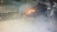 Üsküdar'da dehşet anlar: Takla atan araçtan son anda kurtuldular