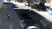 Otomobilin çarpmasıyla metrelerce fırlayan genç hayata tutunamadı