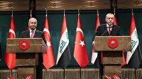 Irak Cumhurbaşkanı Salih'ten Erdoğan'a taziye telefonu