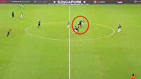 Harry Kane'den inanılmaz gol: Orta sahadan avladı