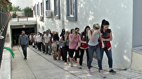 Balıkesir'de kadınlara şantaj operasyonu: 52 gözaltı