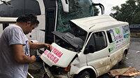 Ordu'da yolcu otobüsü minibüsle çarpıştı: 3 ölü