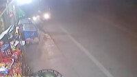 3 kişinin ölümden döndüğü anlar güvenlik kamerasında