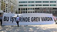 Antalya Büyükşehir Belediyesi'nde grev