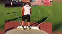 Down Sendromlu milli sporcudan dünya rekoru
